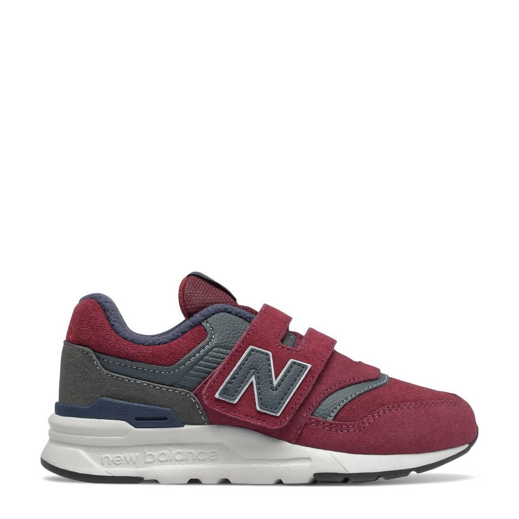 New Balance 997  sneakers donkerrood/grijs, Donkerrood/grijs