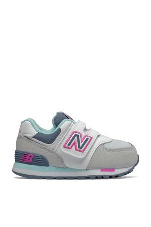 574  sneakers grijs/wit/blauw
