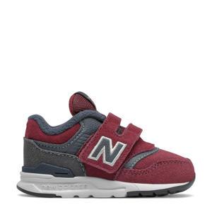 997  sneakers donkerrood/grijs