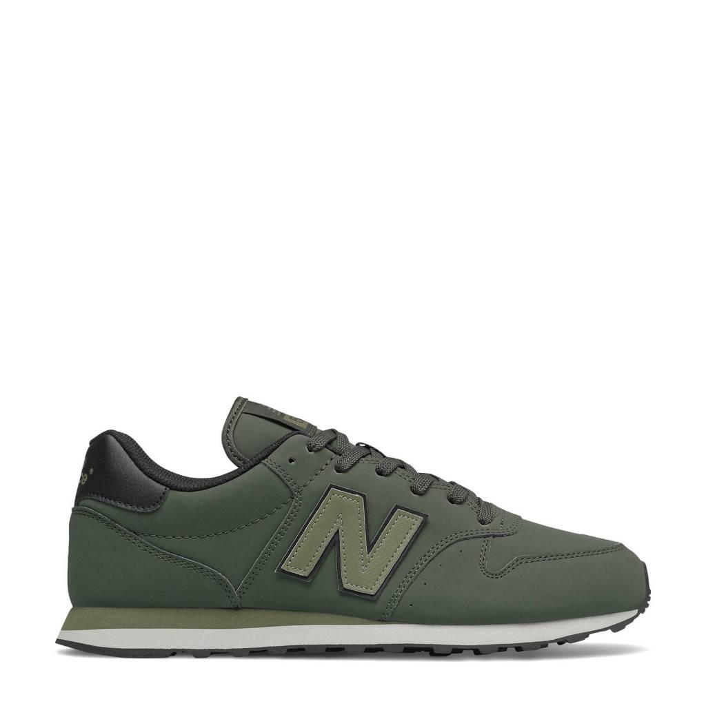 New Balance 500  sneakers donkergroen, Donkergroen