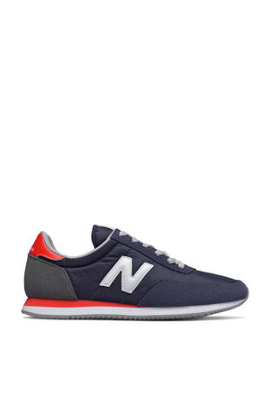 720  sneakers donkerblauw/rood