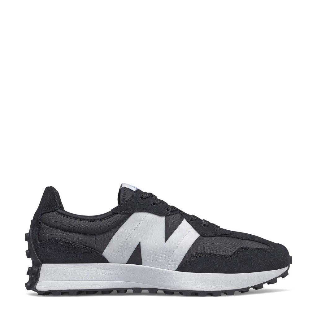 New Balance 327  sneakers zwart/wit, Zwart/wit