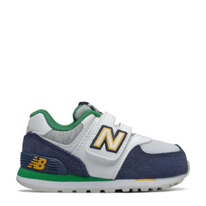 574  sneakers donkerblauw/wit