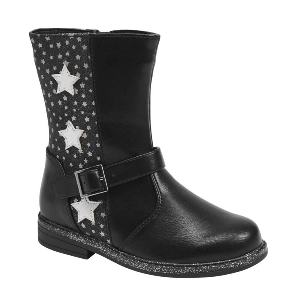 Cupcake Couture   laarzen met siergesp zwart, Zwart