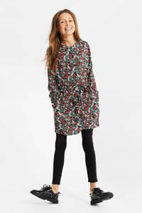 WE Fashion blousejurk met all over print en ceintuur multi, Multi