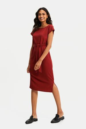 T-shirtjurk brick red