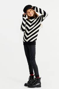 WE Fashion gestreepte trui zwart/wit, Zwart/wit