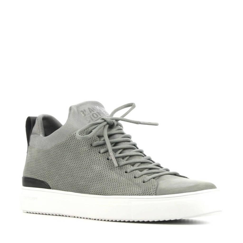 Blackstone SG38  suède sneakers grijs, Grijs