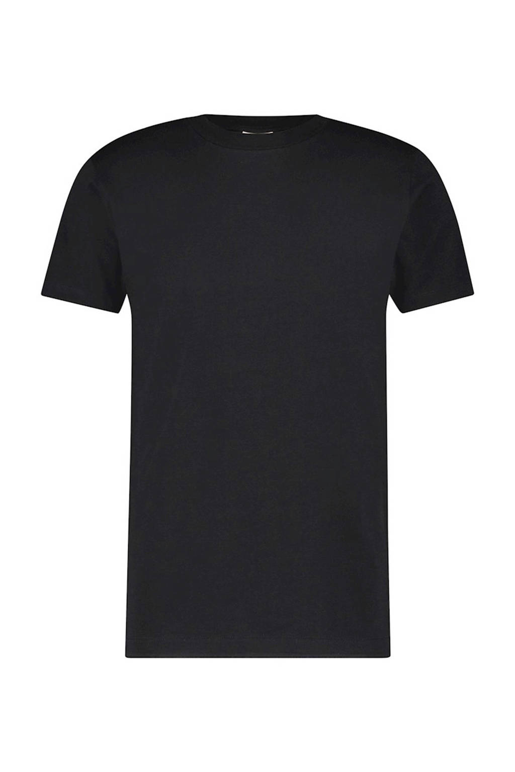 Purewhite T-shirt zwart, Zwart