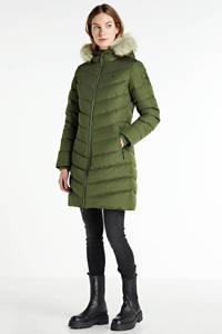 CALVIN KLEIN gewatteerde jas groen, Groen