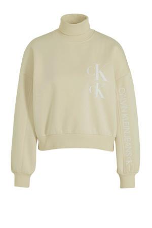 sweater met biologisch katoen soft cream