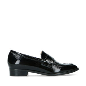 lakleren loafers zwart