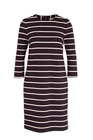 gestreepte jurk SHIFT TEXTURED SS DRESS 0e4 global stp desert sky