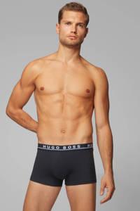 BOSS boxershort (set van 3), Zwart/grijs/wit