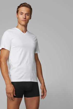 T-shirt (set van 3) wit