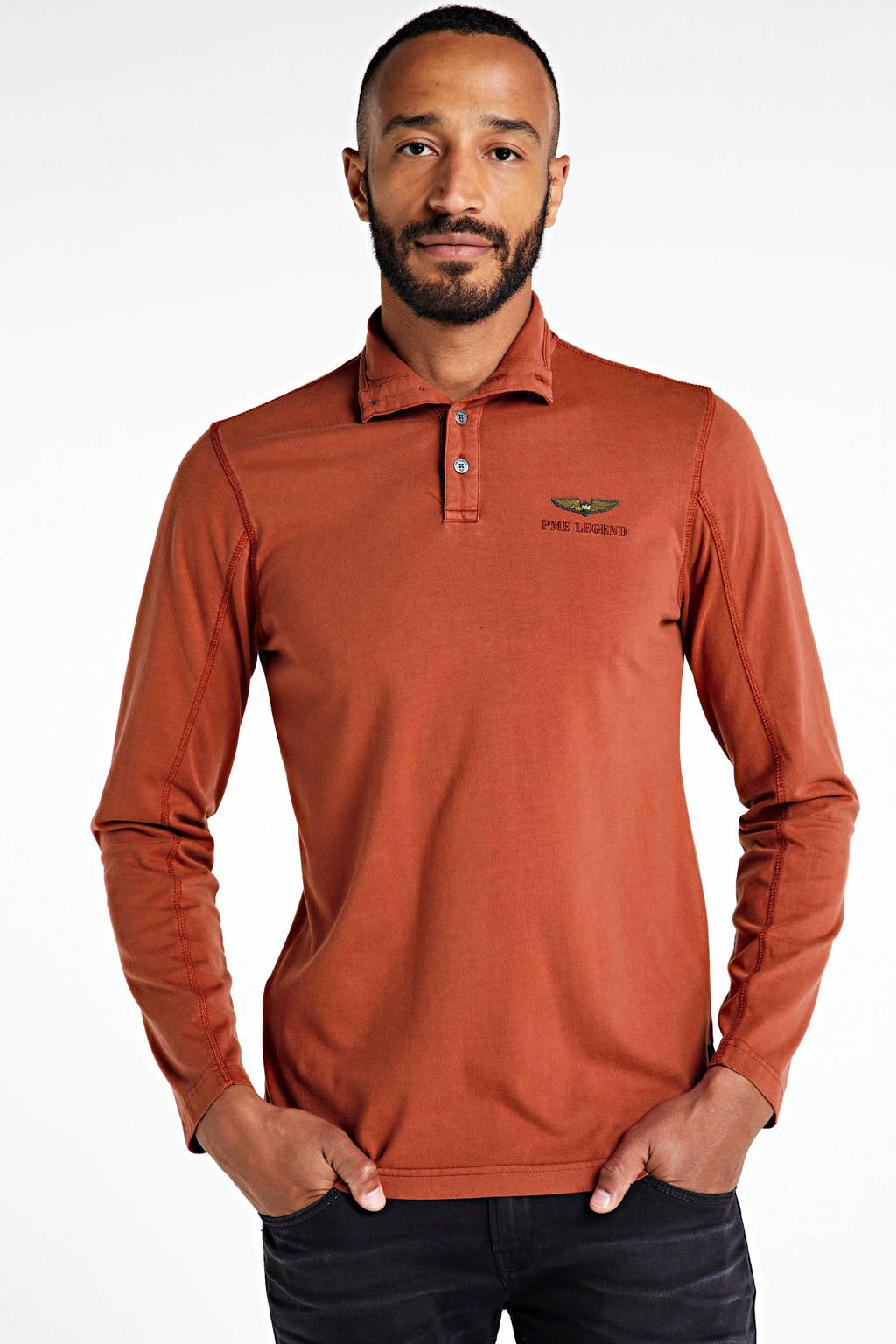 PME Legend polo brique, Brique