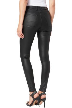 coated high waist skinny jeans REGENT denim000