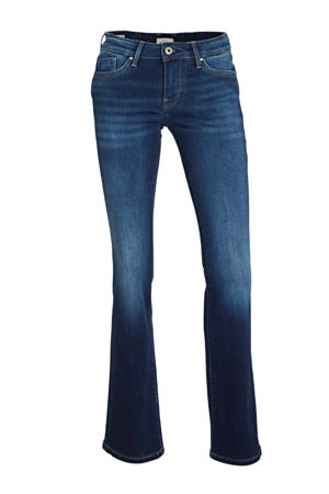 low waist flared jeans Piccadilly dark blue