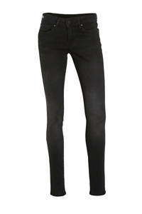 Pepe Jeans low waist slim fit jeans Soho washed black