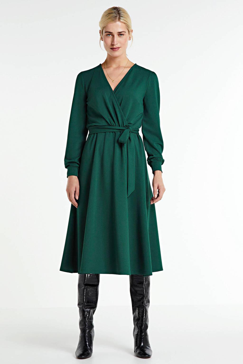 anytime A-lijn jurk donkergroen, Donkergroen