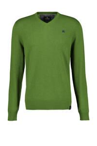 LERROS fijngebreide trui groen, Groen