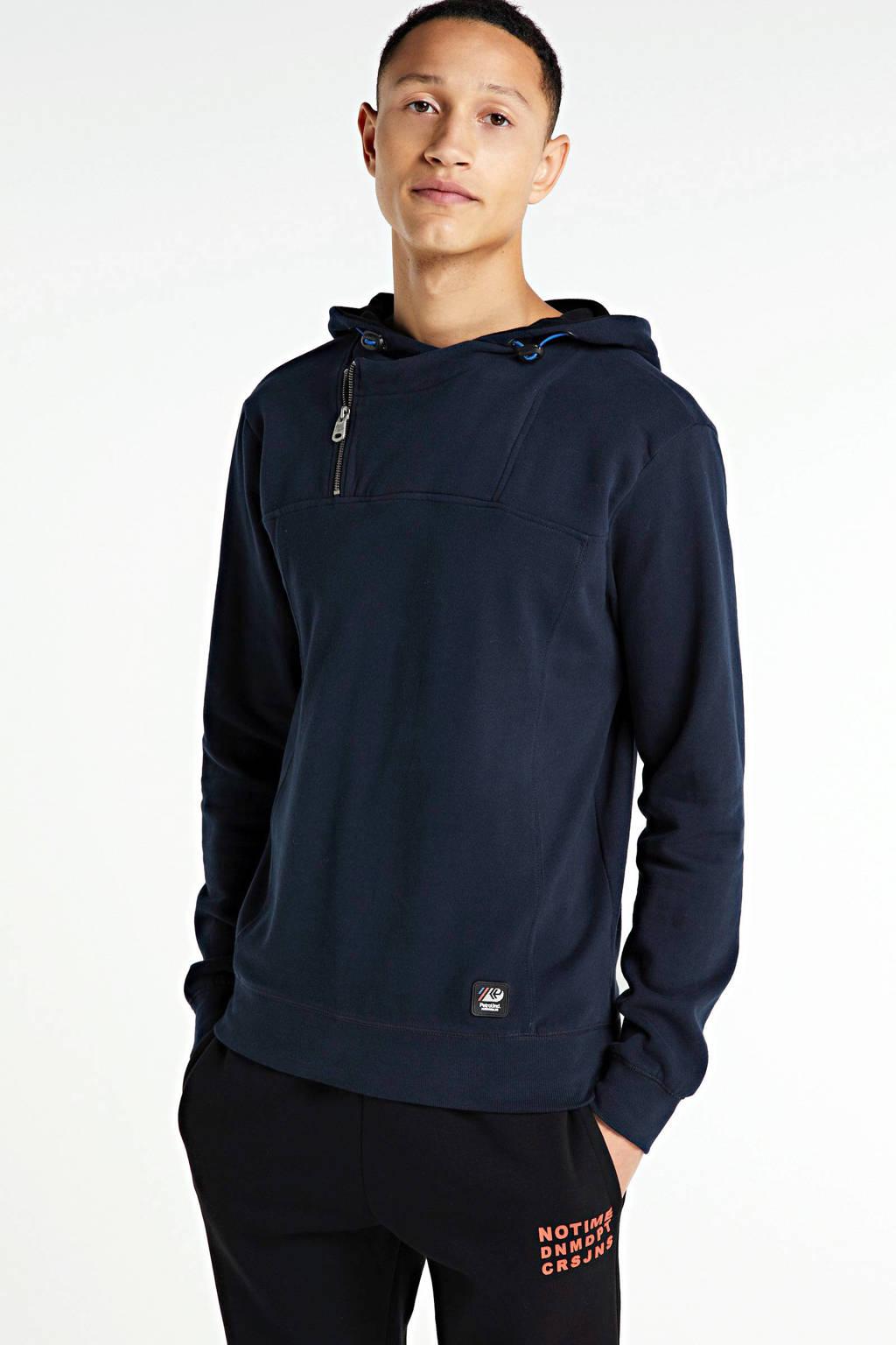 Petrol Industries hoodie donkerblauw, Donkerblauw