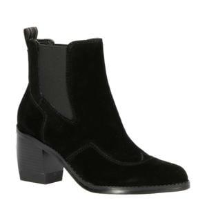 Tacoma Boot  suède chelsea boots zwart