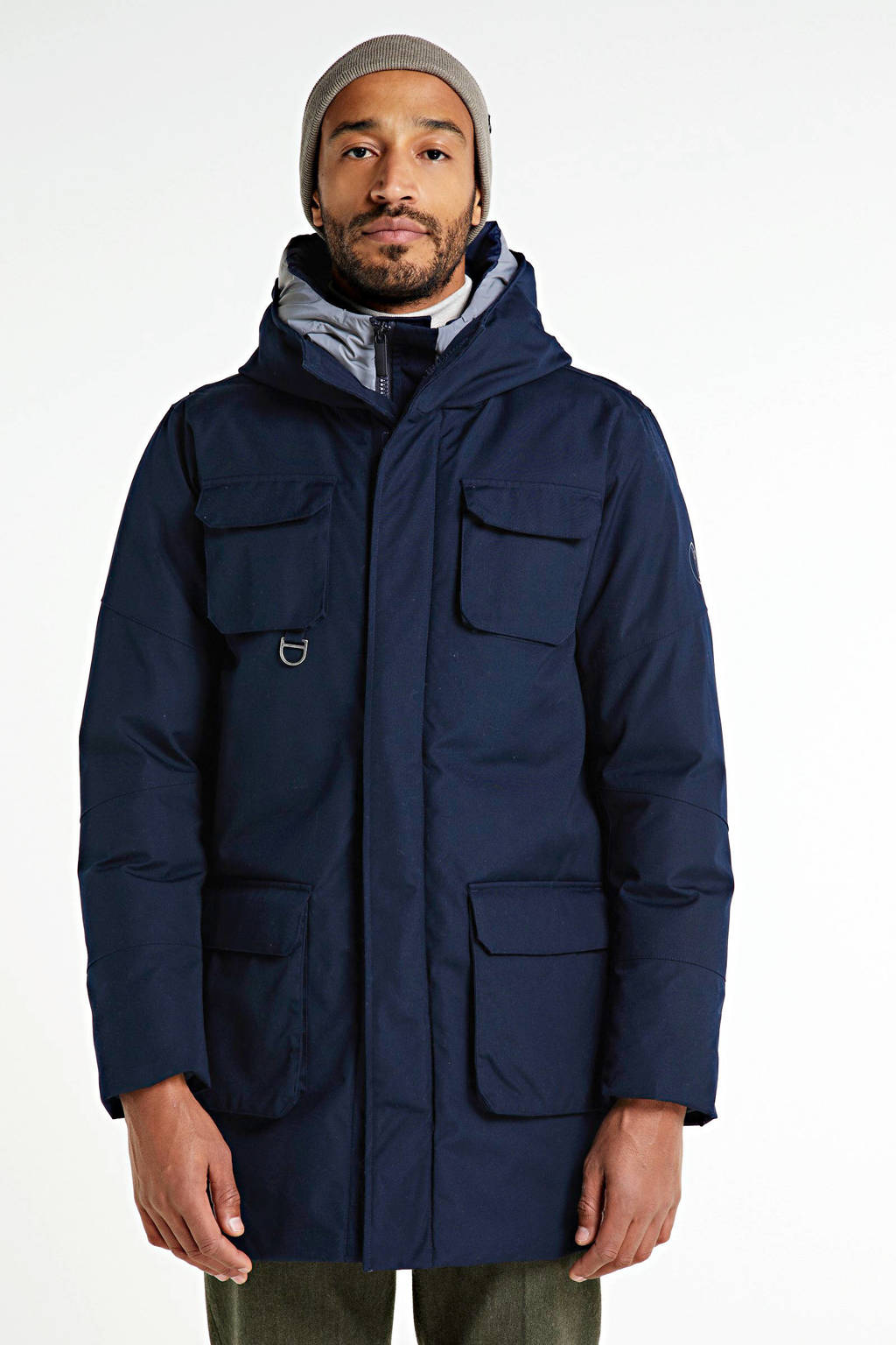 Knowledge Cotton Apparel parka Arctic total eclipse, Total eclipse