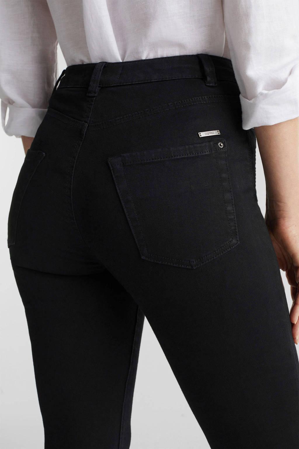 ESPRIT Women Casual skinny jeans zwart, Zwart