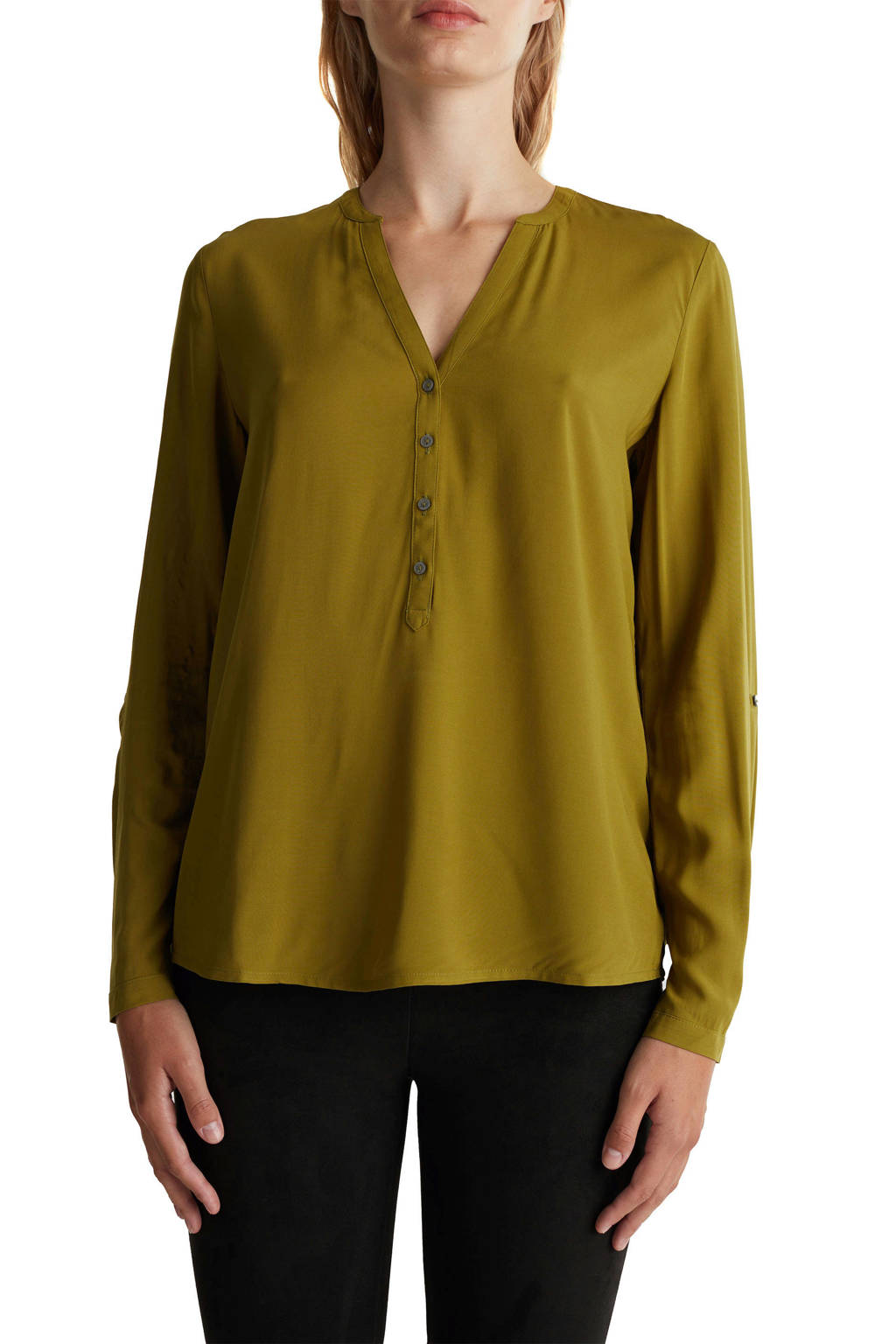 ESPRIT Women Casual top groen, Groen