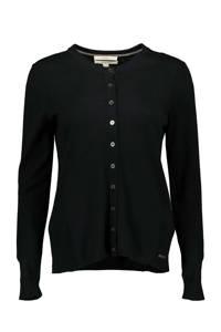 ESPRIT Women Casual vest zwart/zilver, Zwart/zilver