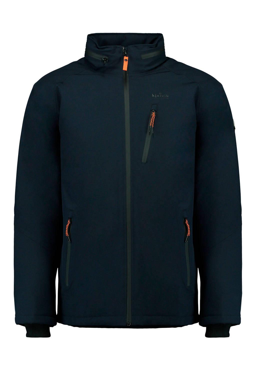 Kjelvik Outdoor jas donkerblauw, Donkerblauw