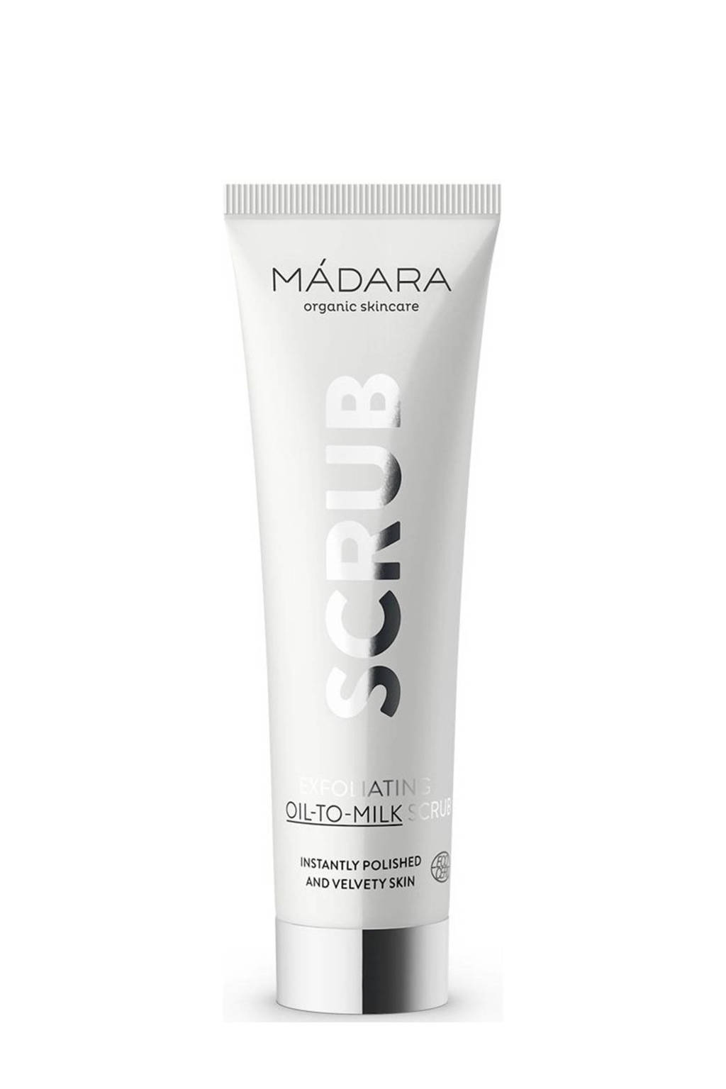 Mádara Exfoliating Oil-To-Milk scrub