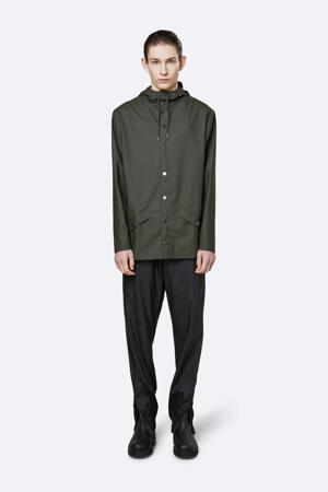 Jacket regenjas donkergroen