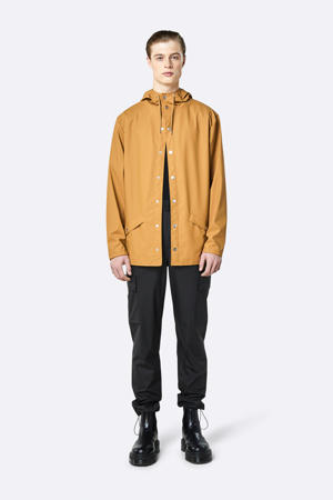 Jacket regenjas oker