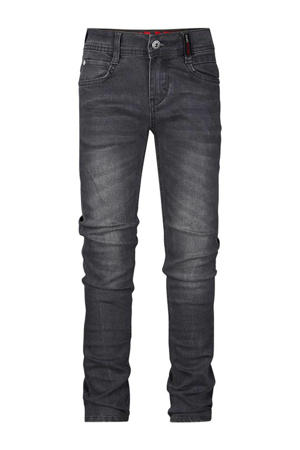 slim fit jeans Bas dark grey denim