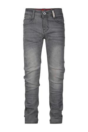 slim fit jeans Bas medium grey denim