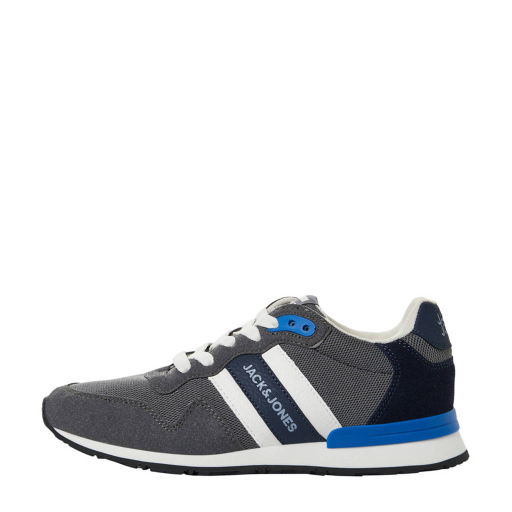 JACK & JONES JUNIOR   sneakers antraciet, Antraciet/Wit/Zwart/Blauw
