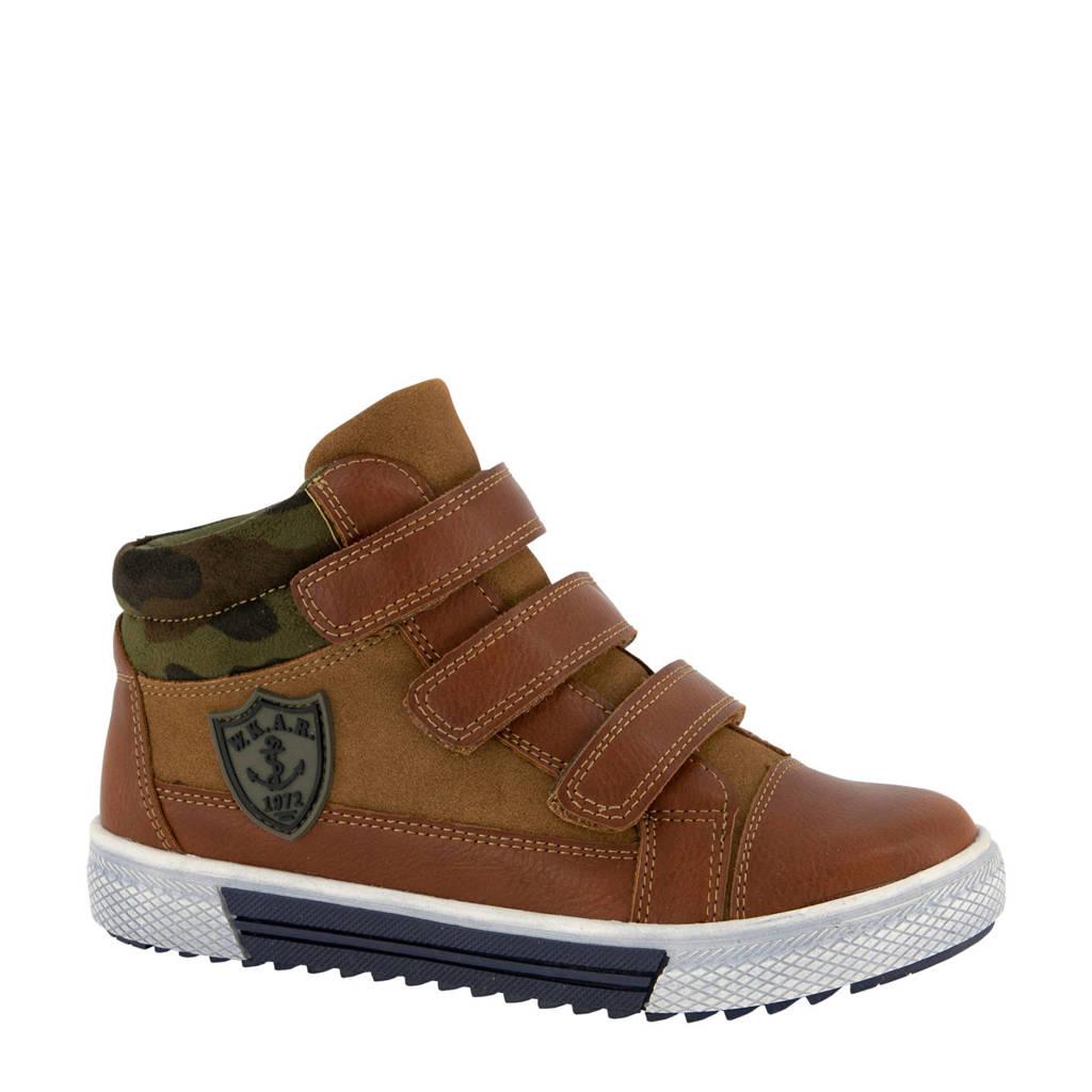 Vty   hoge sneakers bruin, Bruin