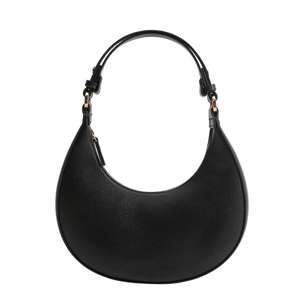 Mango   handtas zwart, Zwart