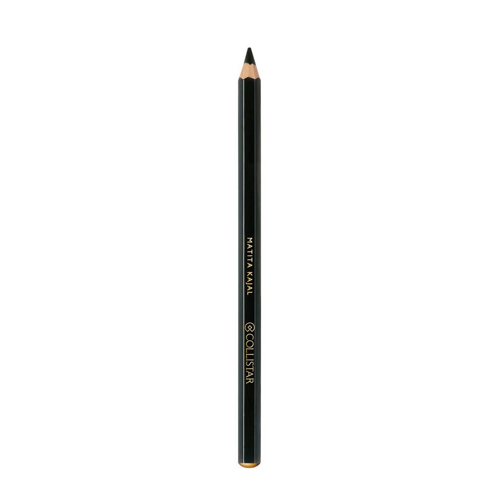 Collistar Kajal Pencil Black oogpotlood, Zwart