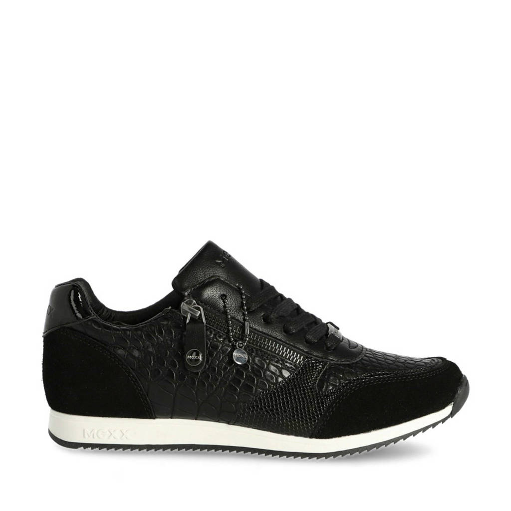 Mexx Federica  sneakers zwart, Zwart