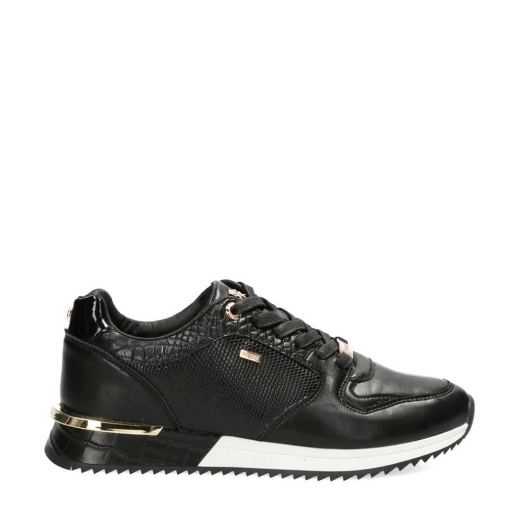 Mexx Fleur  sneakers zwart, Zwart