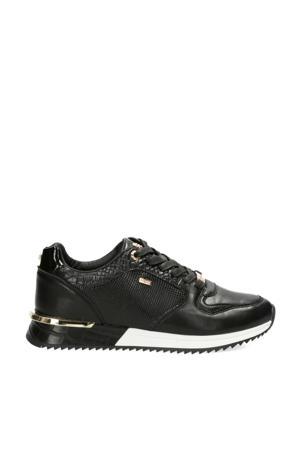 Fleur  sneakers zwart