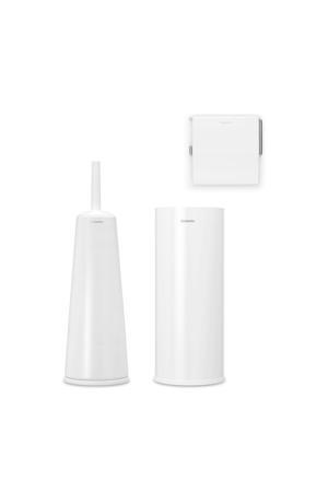 toiletaccessoires ReNew (set van 3) Wit