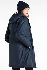 FREEQUENT parka winterjas donkerblauw, Donkerblauw