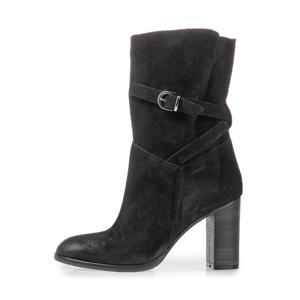 Ashli  suède laarzen zwart