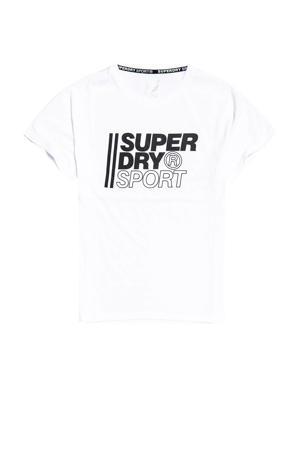 sport T-shirt wit