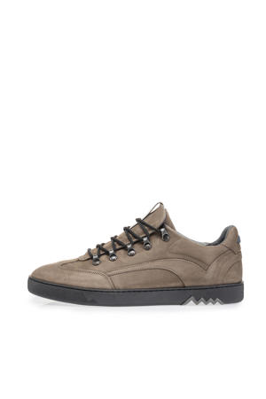nubuck sneakers taupe