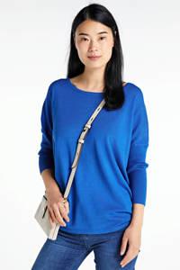 FREEQUENT trui blauw, Blauw